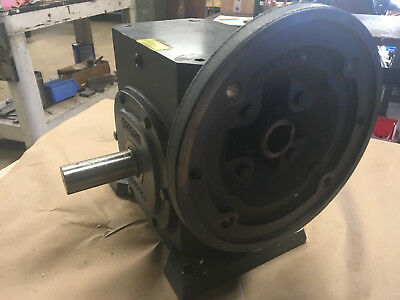 Boston Gear Reducer F726-10-B9-G Ratio 10:1 3.94HP In 1345 In/Lb Torque Out Used