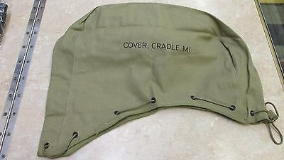 Ww2 Us Unissued M1 Cradle Cover  Water Cooled Tripod Khaki