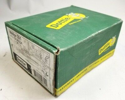 "Dottie W38334 3/8 X 3-3/4"" SD1 Wedge Anchors Full Thread (Lot of 46) NIB NEW"