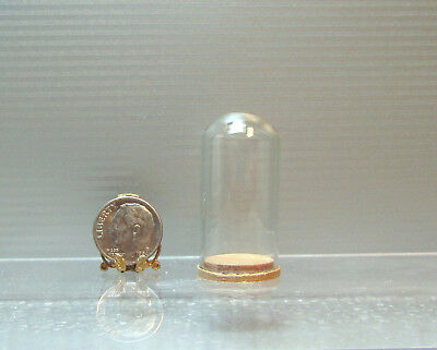 Dollhouse Brass compote Dish on Stant 1//4 inch x 1//4 inch tall Tretters USA