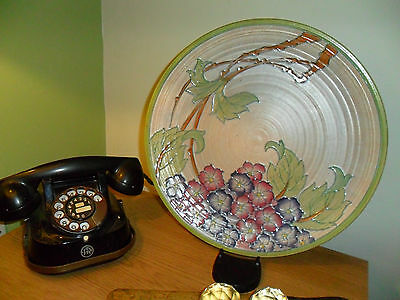 Crown Ducal Charlotte Rhead plate - wall plate - charger Huge