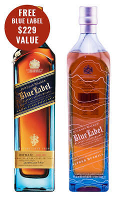 Johnnie Walker Alfred Dunhill Limited Edition & Free Blue Label