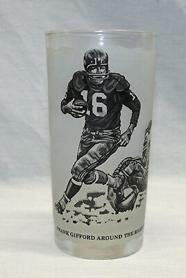 Shell Oil Collector Glass Frank Gifford