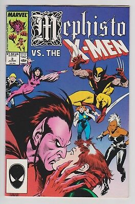 Mephisto vs. (The X-Men) #3 (of 4) 1987 VF 8.0