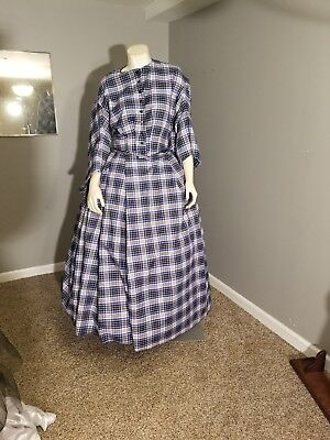 civil war antebellum fantasy reenactment dress 2pc 32 in
