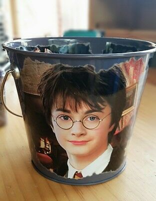 Harry Potter Tin Bucket 2004 Philospher's Stone Rare Playworks