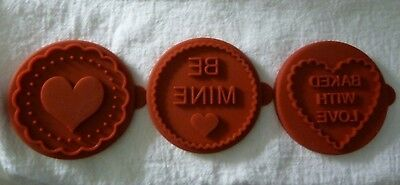 William Sonoma Valentine cookie stamp