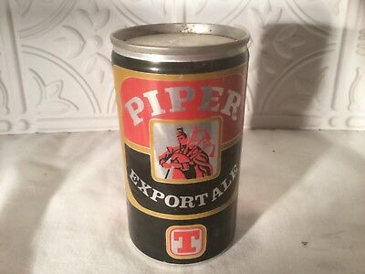 Vintage Flat Top Beer Can Piper Export Ale T