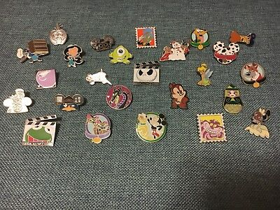 Disney Pin Trading Lot of 20 Assorted Pins - No Doubles - Tradable