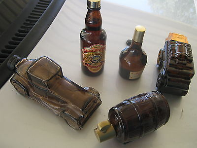 vintage avon mens, bottles, limo, keg and stage coach decanters bulk buy
