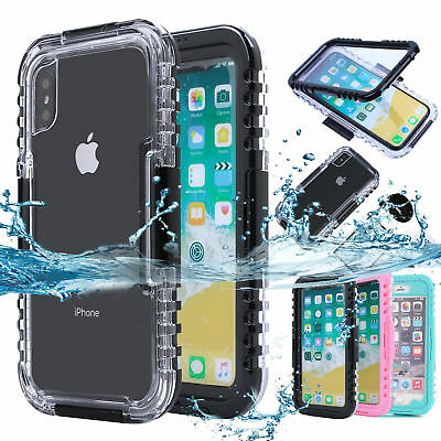For Apple iPhone X Waterproof Shockproof Heavy Duty Tough Armor Hard Case Cover