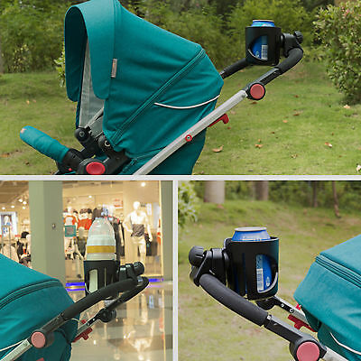 Baby Stroller Buggy Pram Pushchair Drink Bottle Cup Holder Carabiner Clip Hanger