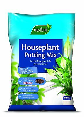 Westland Houseplant Potting Compost Mix Enriched with Seramis 4L
