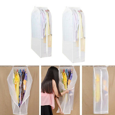 Garment Bag Dust Cove Suits Dresses protective storage Wardrobe clothes New