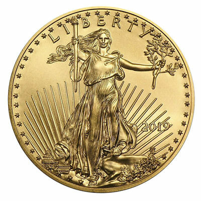 1/10 oz Gold Eagle 5 Dollar USA 2018 Goldmünze 916,7 Stempelglanz