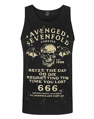 Avenged Sevenfold Seize The Day Men's Vest