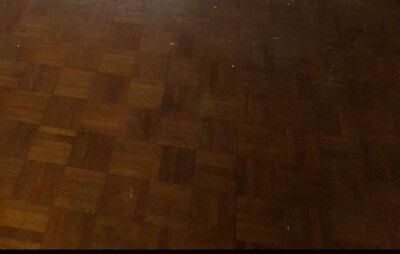 orginal parquet flooring . 160 fingers which should cover 1/2 metre squared.