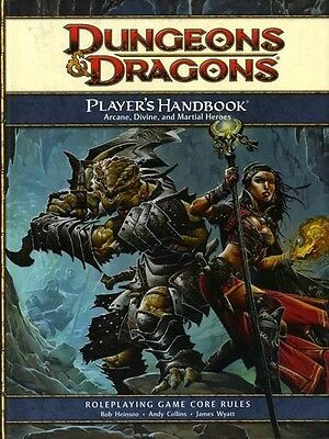 PLAYER'S HANDBOOK VF! 4E Core Rules D&D Dungeons Dragons 4th ED Game RPG