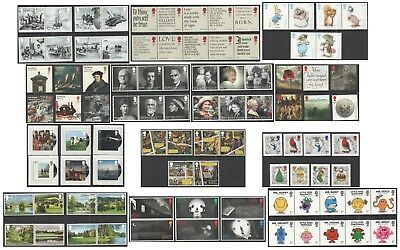 2016 Royal Mail Commemorative Sets. Unmounted Mint. Each sold separately.