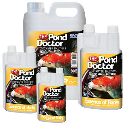 TAP Pond Doctor Barley Straw Extract Treats Green Water Algae Natural Fish Pond