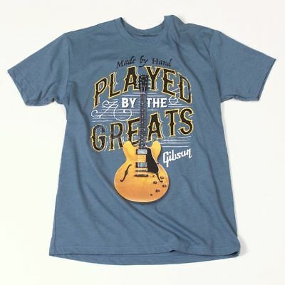 Gibson Gibson - Played By The Greats T-Shirt XXL