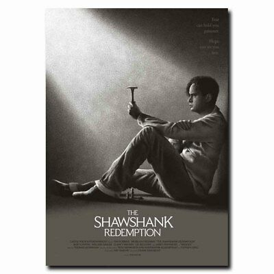 The Shawshank Redemption 12x16inch Movie Silk Poster Cool Gifts Room Door Decal
