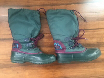 delicate colors authorized site 100% quality VINTAGE SOREL FREESTYLE Women's Winter Snow Boots Size 8 Teal MADE ...