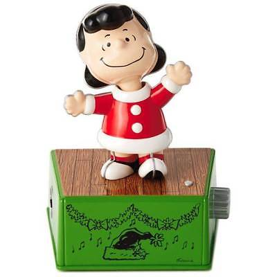 Hallmark 2017 Peanuts LUCY Christmas Dance Party Figure w/ Music/Motion
