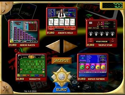 Gaminator EUROGOLD Multigames Systems for Slot Machine Professional Software