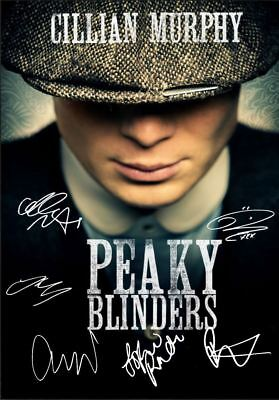 Peaky Blinders Tv Poster A5..A4. A3..A2 options 260gsm Reprint signature's