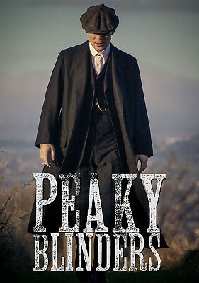 Peaky Blinders Tv Poster A5..A4. A3...or A2 options 260gsm