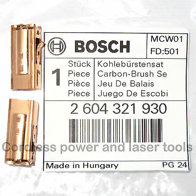 Bosch Carbon Brushes PSB 500 600 700-2 750 -2 850-2 1000 RE RCA RCE 2604321930