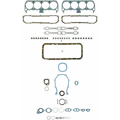 Valve Cover Gaskets for Buick 400-430-455 1967 to 1976 stop the oil leaks,save