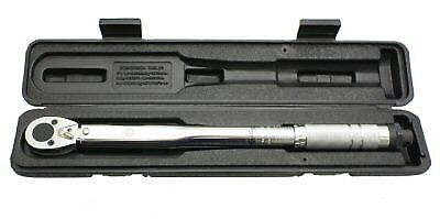 "Universal Parts Click Style Torque Wrench With Pro Ratchet Head Has 3/8"" Drive"