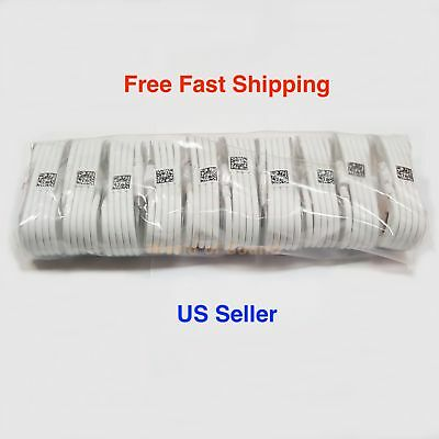 10x OEM Samsung Rapid Charge Micro USB Cable Charging Cord For Android Phones US
