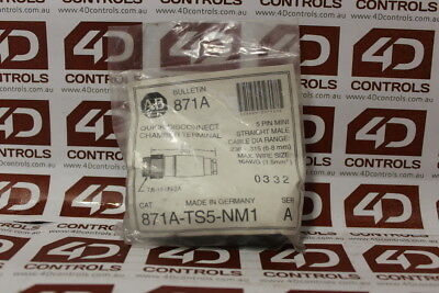 Allen Bradley 871A-TS5-NM1 Quick Disconnect - Series A - New Surplus Sealed