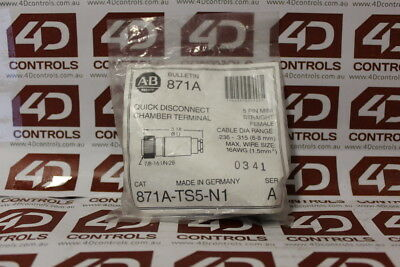 Allen Bradley 871A-TS5-N1 Quick Disconnect - Series A - New Surplus Sealed