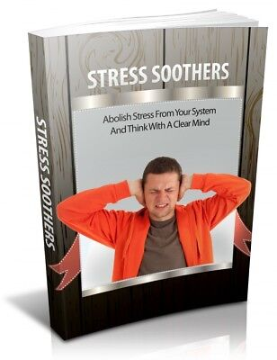 Hot ebook-Stress Soothers,Abolish Stress, Clear Mind,eBook PDF+FREE SHIPPING,MRR