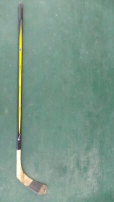 "Vintage Wooden 55"" Long Hockey Stick"