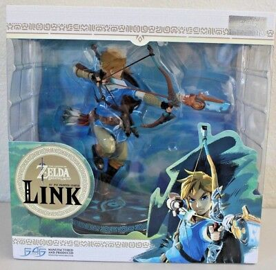 Nintendo Legend of Zelda: Breath of the Wild Link First Four Figures 10""