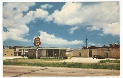 FMRA NEW ORLEANS LA TOWN HOUSE MOTOR HOTEL POSTCARD th218