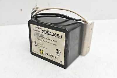 Square D Secondary Surge Arrester SDSA3650 650VAC Max.