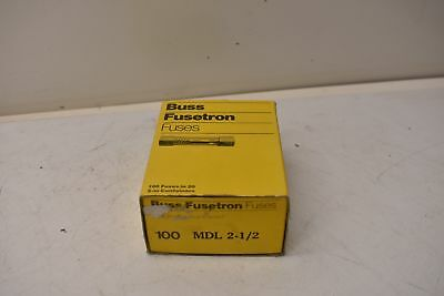 Buss Fusetron Fuses MDL 2-1/2 Box of 90