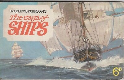 Brooke Bond - The Saga of Ships - FULL SET