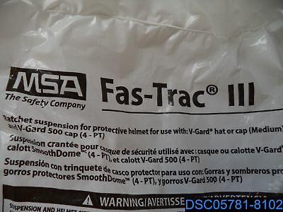 MSA Safety Plastic/Nylon Fas-Trac III Replacement Ratchet Suspension - 10148708