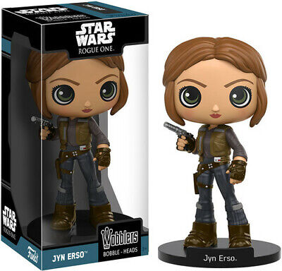 FUNKO WOBBLER: Star Wars - Rogue One - Jyn Erso [New Toys] Vinyl Figure