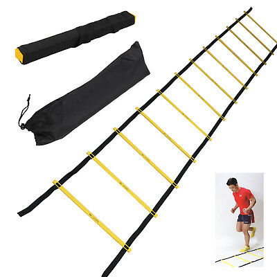 Koordinationsleiter Trainingsleiter Agility Speed Trainingshelfer Leiter Ladder
