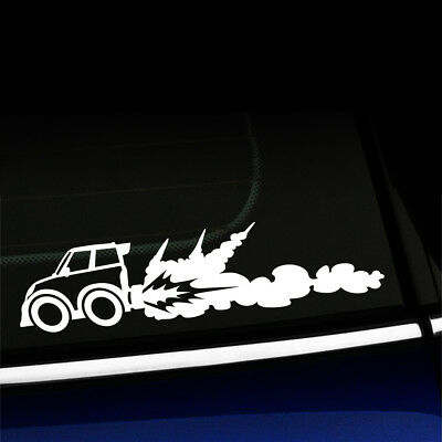 Rocket Car - Cute Funny Racecar Sticker Decal - You choose the color