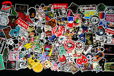 700PC Random Vinyl Decal Graffiti Sticker Bomb Laptop Waterproof Stickers Skate