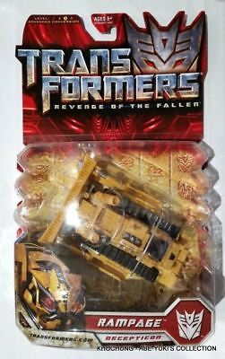 Transformers Revenge Of The Fallen Deluxe Class : Rampage - New Rotf